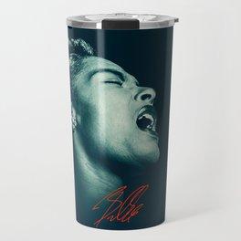 Billie / The great Billie Holiday Travel Mug
