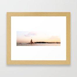 Istanbul Bay Framed Art Print
