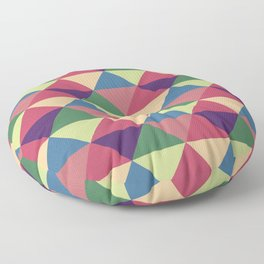 Let's Color The World Floor Pillow