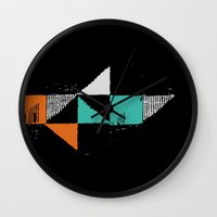 shark Wall Clocks featuring Shark by Last Call