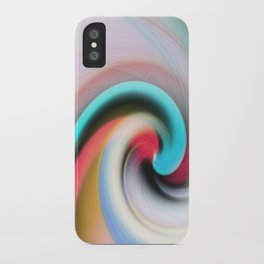 Whirl #2 iPhone Case
