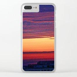 Urban Sunrise #5 Clear iPhone Case