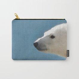 White Polar Bear Carry-All Pouch