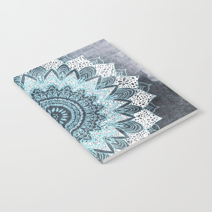 BOHOCHIC MANDALA IN BLUE Notebook