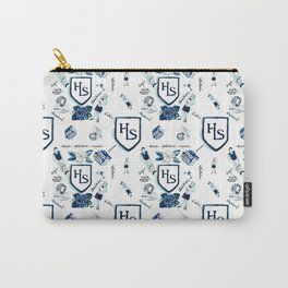 Classical School pattern Carry-All Pouch