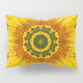 Prairie Coreopsis Mandala Pillow Sham