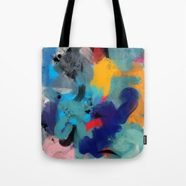 Abstract Expressionism Art Colourful Pattern Tote Bag