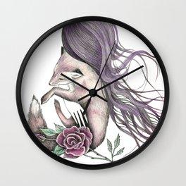 Forest Spirits Wall Clock