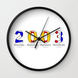 2003 - NAVY - My Year of Birth Wall Clock