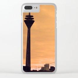 Düsseldorf Skyline Clear iPhone Case