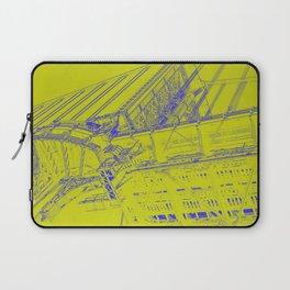 Manhattan Bridge - Green Laptop Sleeve
