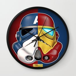 Civil War Wall Clock