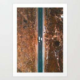 Look Both Ways Art Print