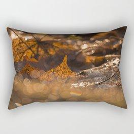 Autumn Bokeh Rectangular Pillow