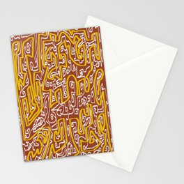 Laberinto 7 Stationery Cards