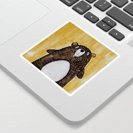 Mr. Bear Sticker