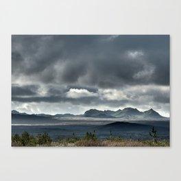 On a hike Canvas Print