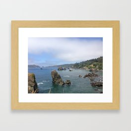 Moonstone Beach Framed Art Print