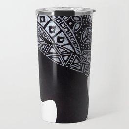 The Exotic of Turban Woman Travel Mug