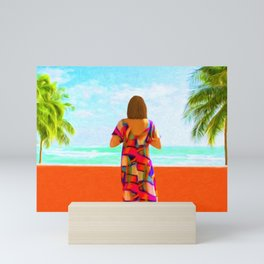 Shall I Compare Thee To A Summer's Day? Mini Art Print