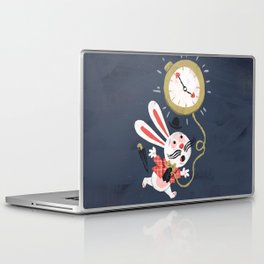 White Rabbit - Alice in Wonderland Laptop & iPad Skin