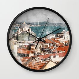 Istanbul Turkey Wall Clock