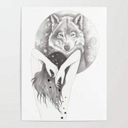 WolfMoon Poster