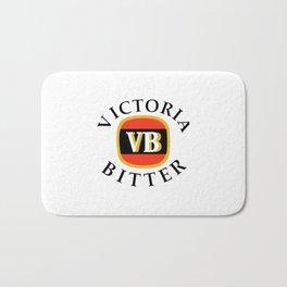 victoria bitter black Bath Mat