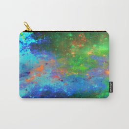 Speed Of Light - Abstract space painting Carry-All Pouch