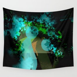 The Blue Lagoon Wall Tapestry