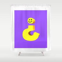 Question mark Shower Curtain