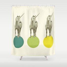 Unicorn Parade Shower Curtain