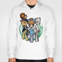 oz Hoodies featuring Oz  by Mickey Spectrum