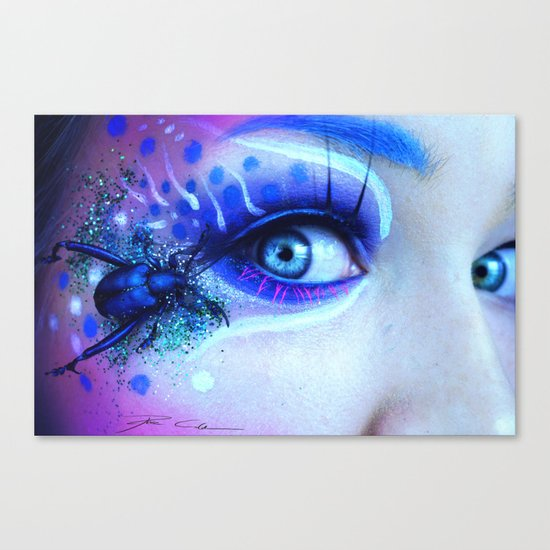 """The beauty and the bug"" Canvas Print"