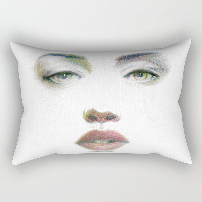 Bedroom Eyes Rectangular Pillow By Studiokazaz Society6