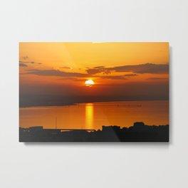 The last sun Metal Print