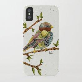 Positivity Bird 2  iPhone Case