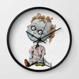The Zombie Games (girl) Wall Clock