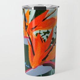 Strelitzia - Bird of Paradise Travel Mug