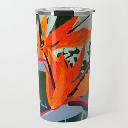 Strelitzia - Bird of Paradise Travel Mug