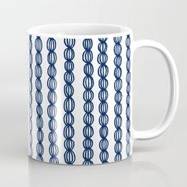 Blue Strings Coffee Mug