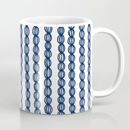 Blue Strings Coffee Mug