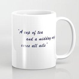 Tea and Sleep (Colour) Coffee Mug