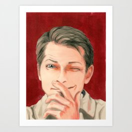 Lucifer!Cas Art Print