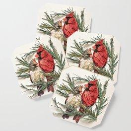 Cardinal Love Coaster