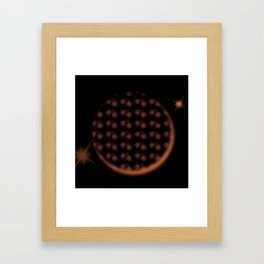 Star Eclipse Framed Art Print