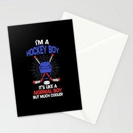 Ice Hockey Gift Stationery Cards