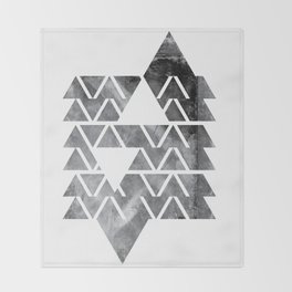 GEOMETRIC SERIES IV Throw Blanket