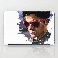 darren criss iPad Cases featuring Darren by Monika Gross