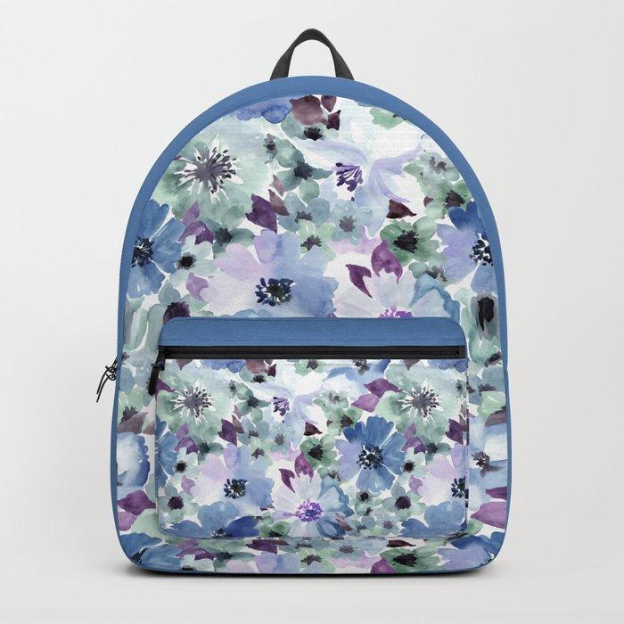 FLOWERS WATERCOLOR 20 Backpack